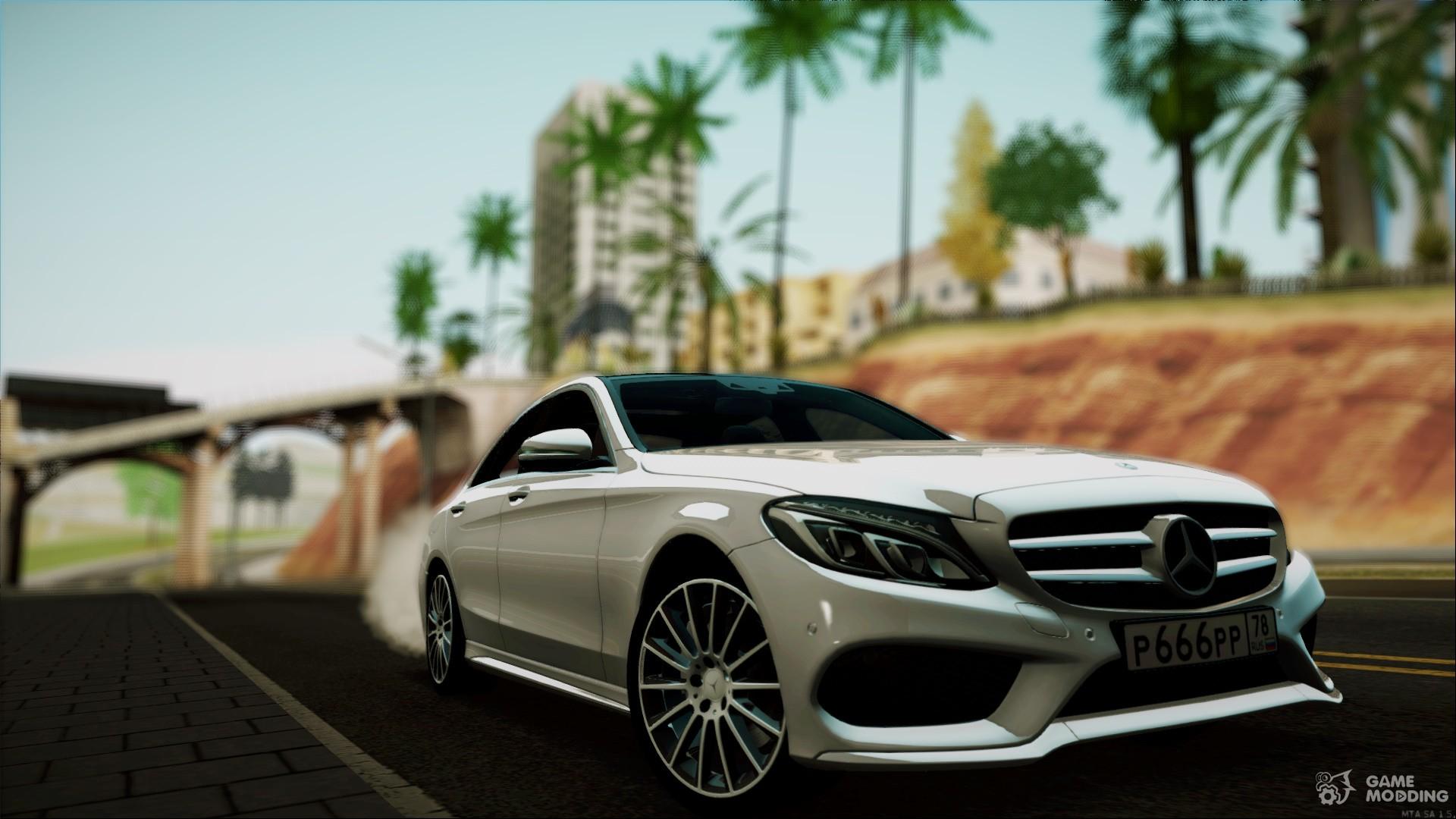 Mercedes Benz C250 2014 For Gta San Andreas