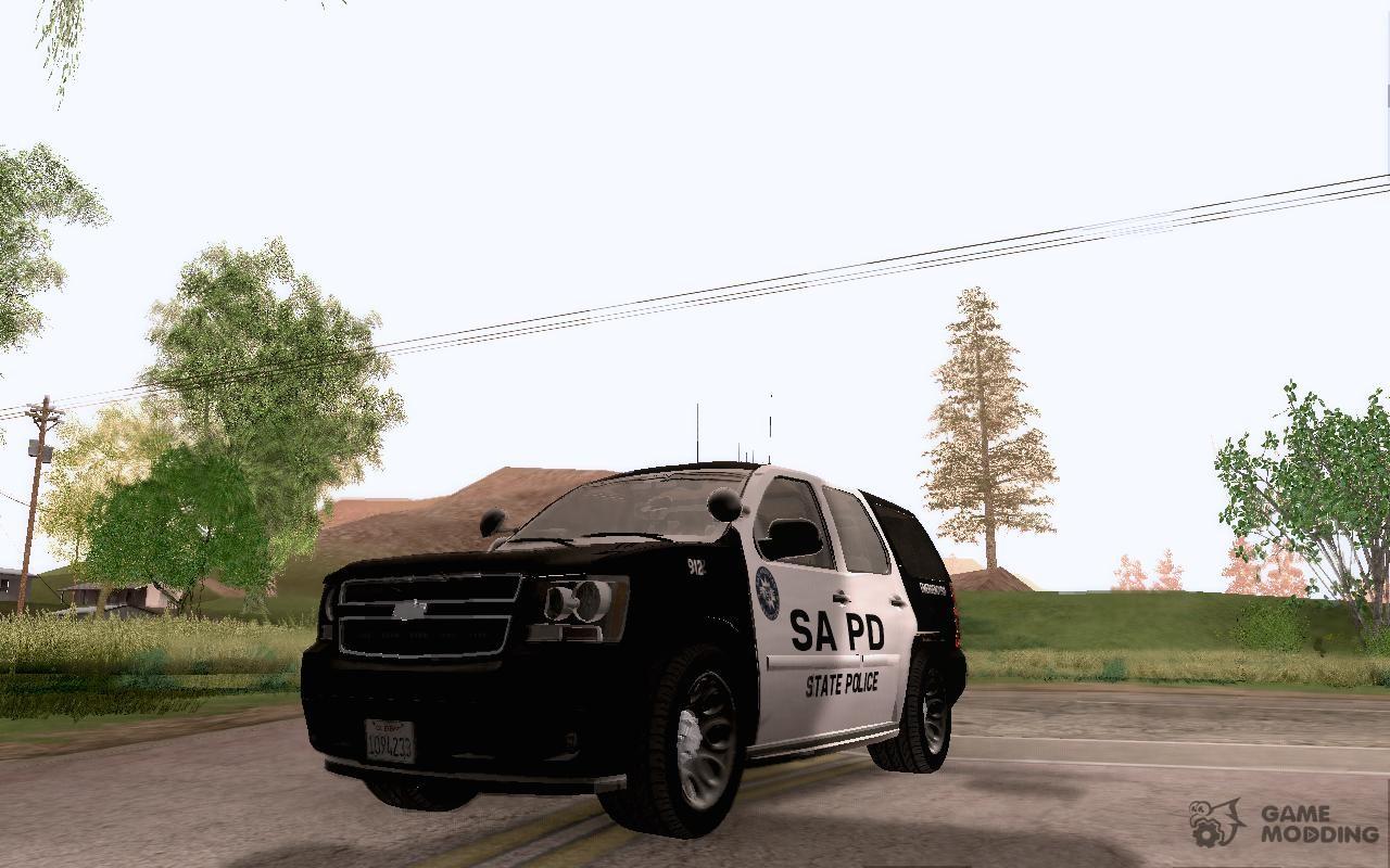 Chevrolet Tahoe SAPD for GTA San Andreas
