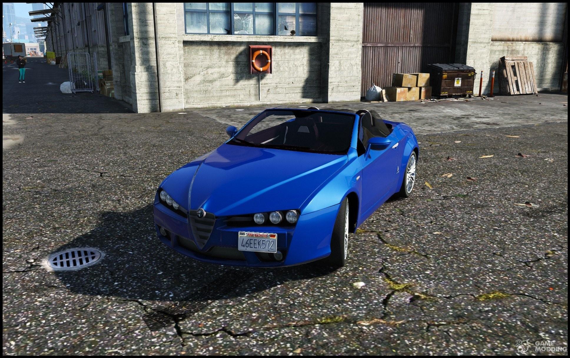 Alfa Romeo Spider 939 Brera 1 0 For Gta 5