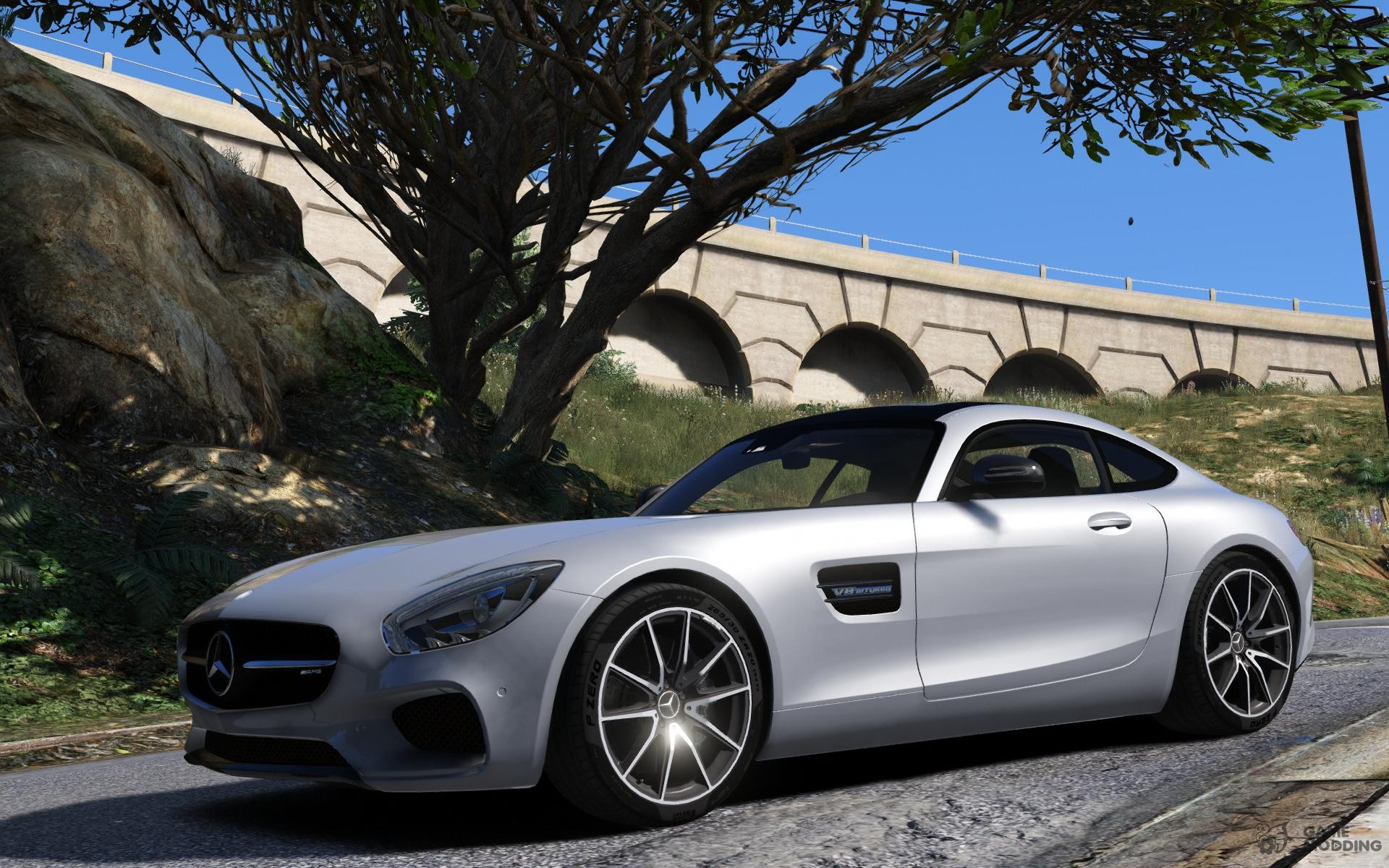 Benefactor surano replace for gta 5 for Auto mercedes benz