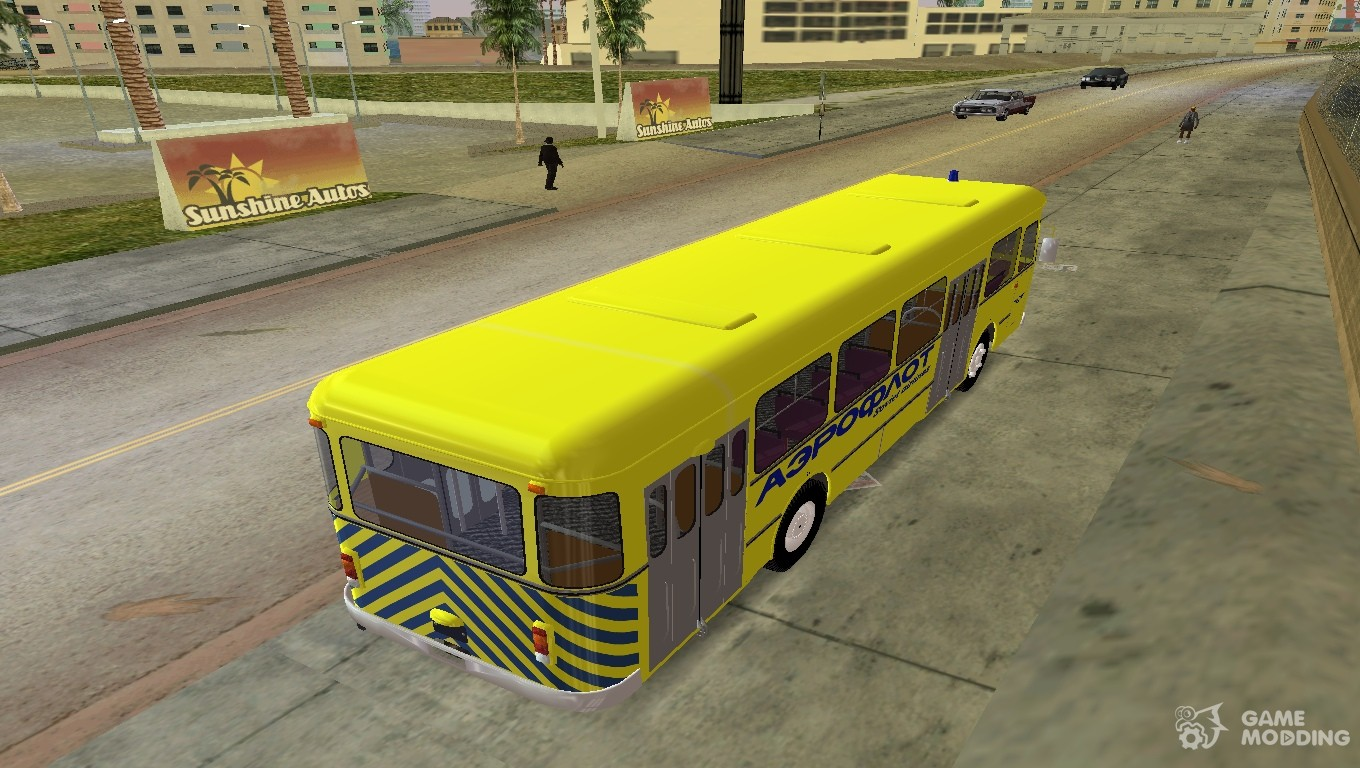 LIAZ 677 Aeroflot for GTA Vice City