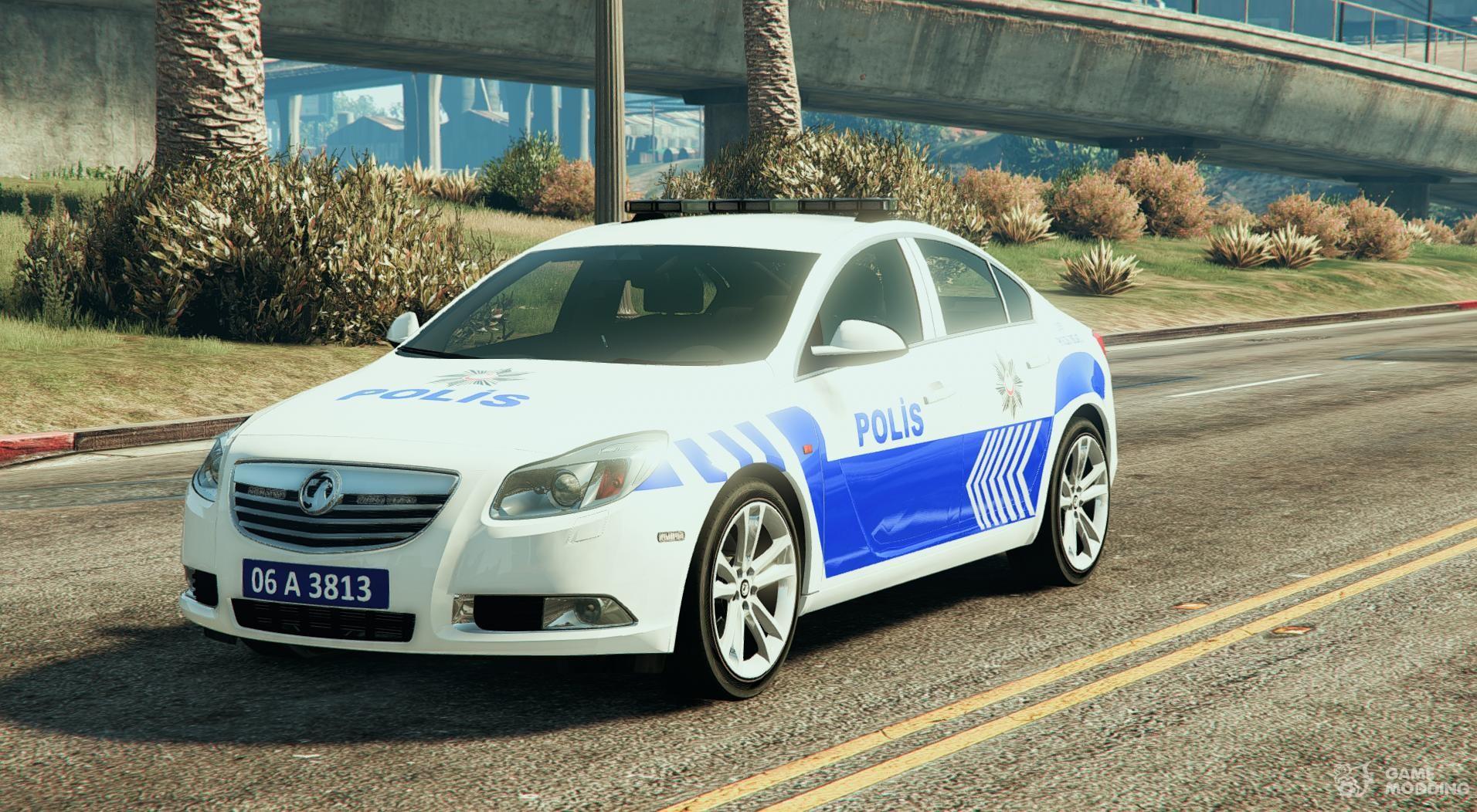 opel insignia 2016 yeni türk polisi for gta 5
