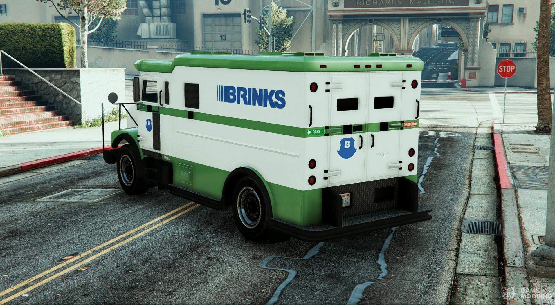 Brink s armored truck texture camion de la brink s