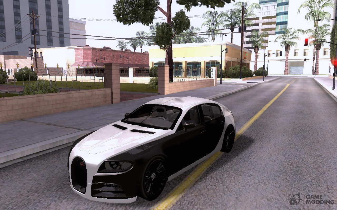 Bugatti Galibier 16c For GTA San Andreas Side View