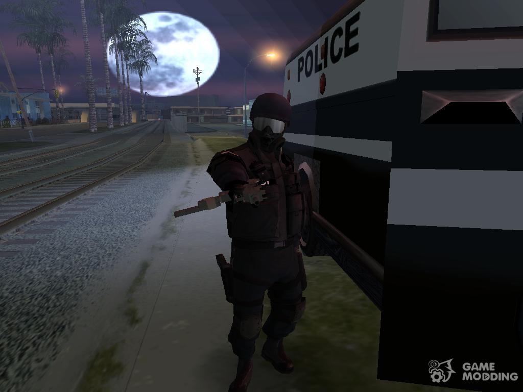 Скачать скин swat для гта 4