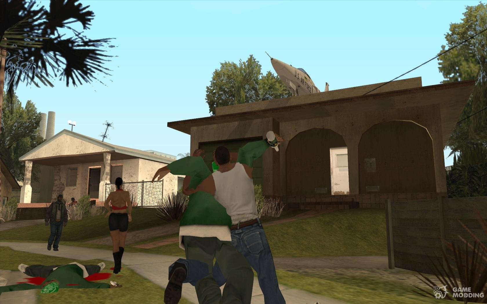 wwe wrestling moves for gta san andreas