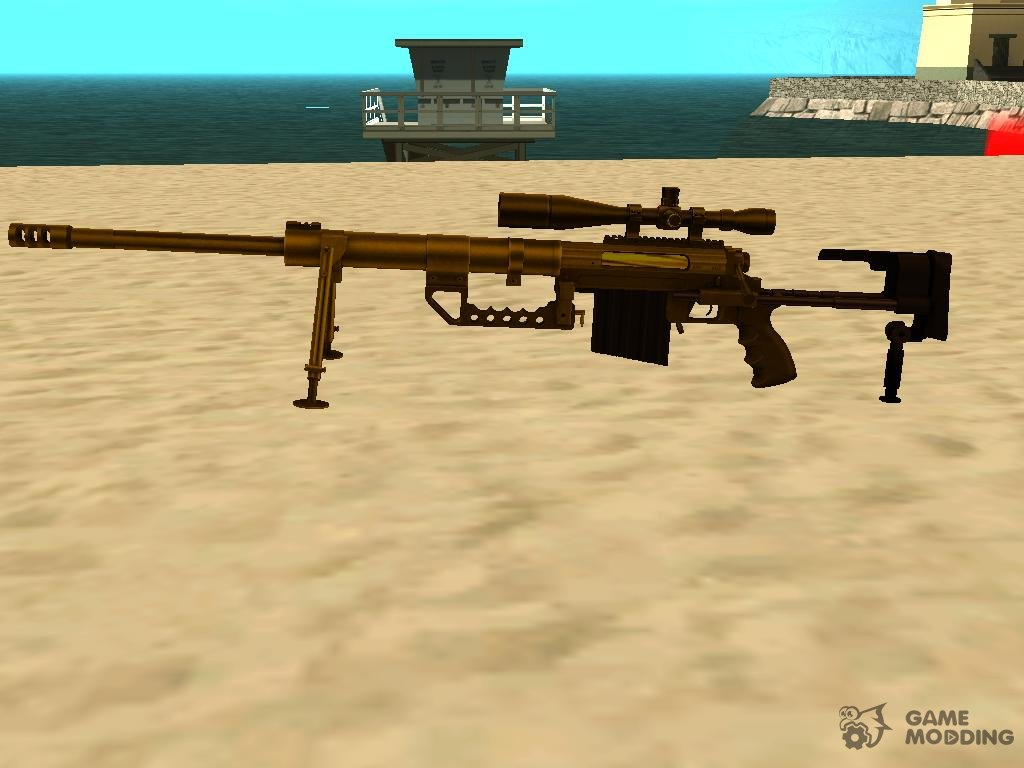 Gold Sniper (Cheytac M200 Intervention) for GTA San Andreas