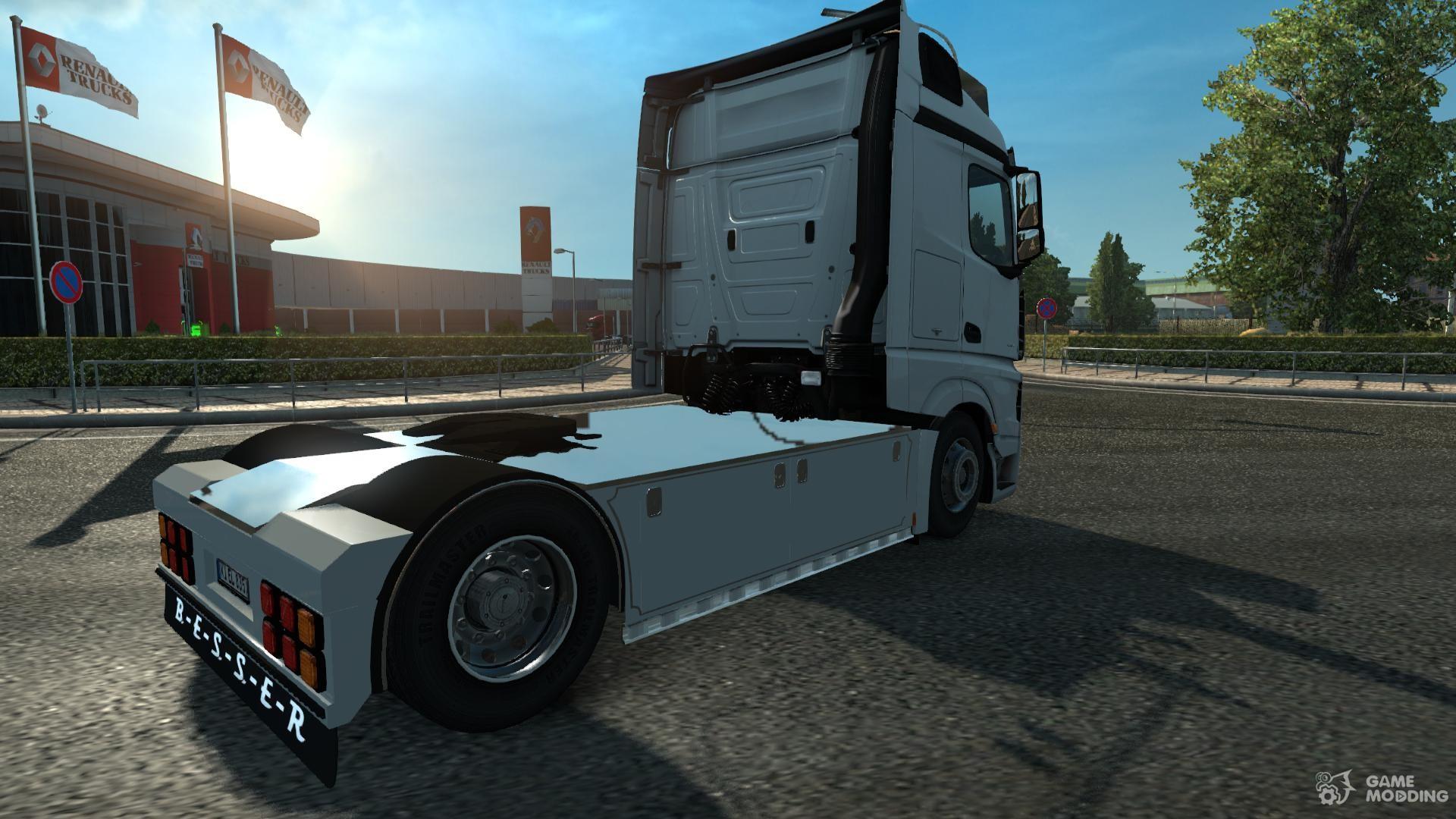 Mercedes benz new actros rework v1 0 for euro truck for Mercedes benz euro