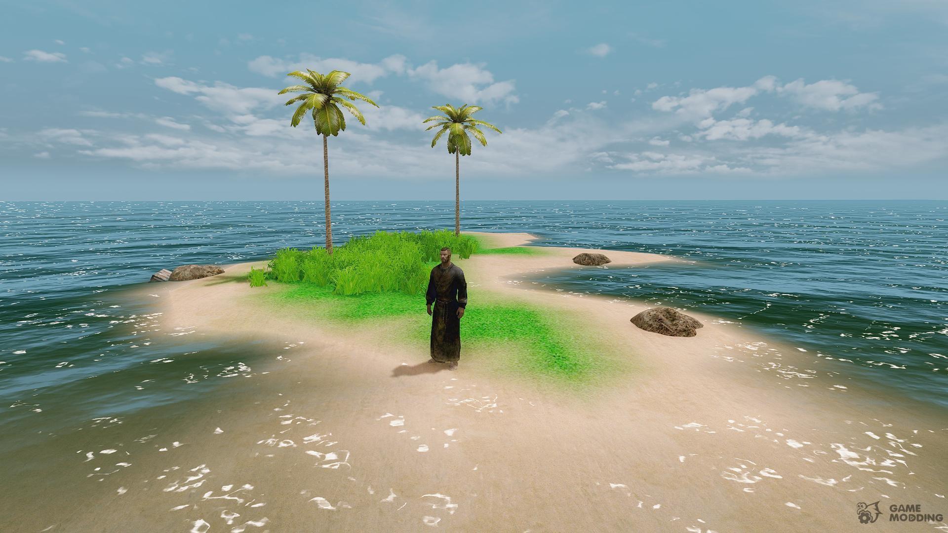 Trpical Island: Tropical Islands For TES V Skyrim