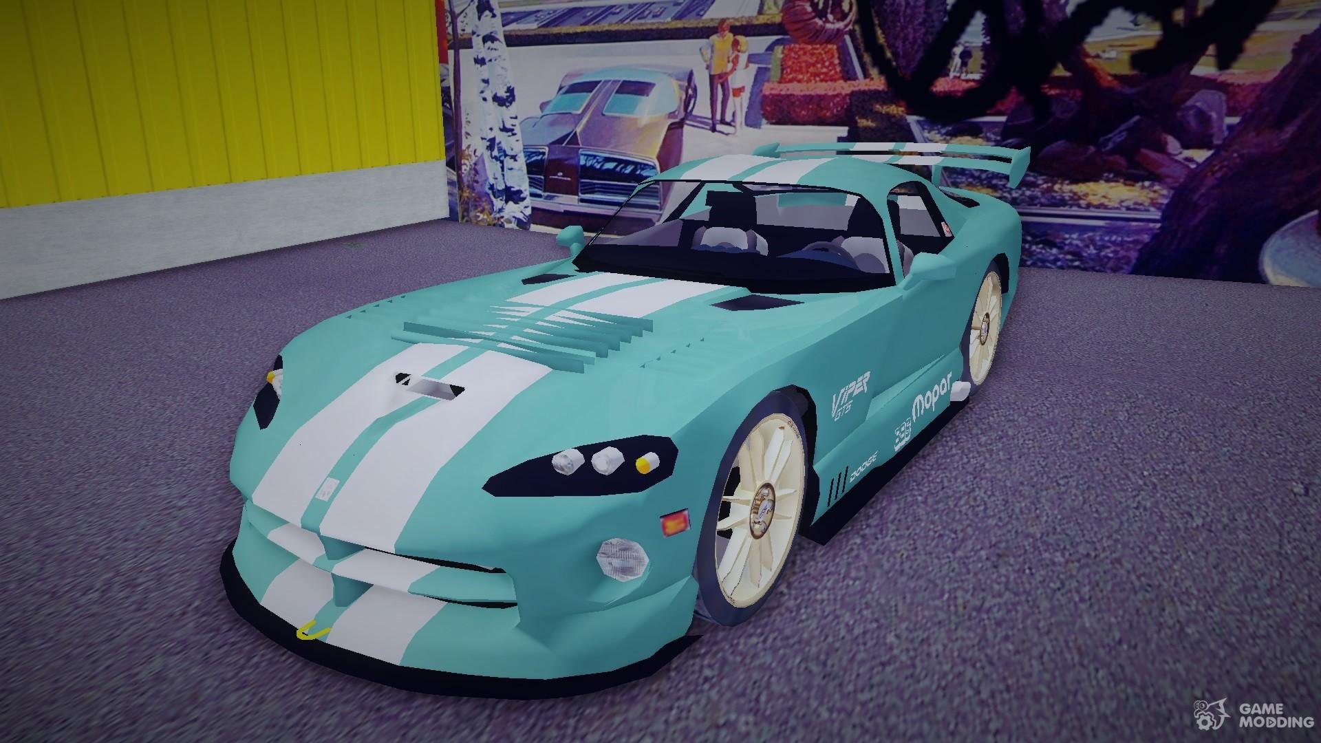 Dodge Viper Gts Tuning V3 0 Para Gta 3