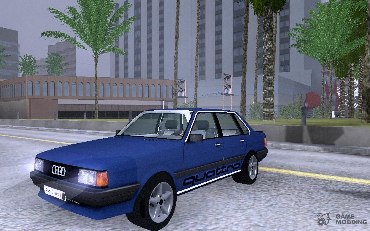 audi 80 b2 for gta san andreas. Black Bedroom Furniture Sets. Home Design Ideas