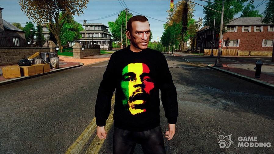 Bob Marley Sweater for GTA 4