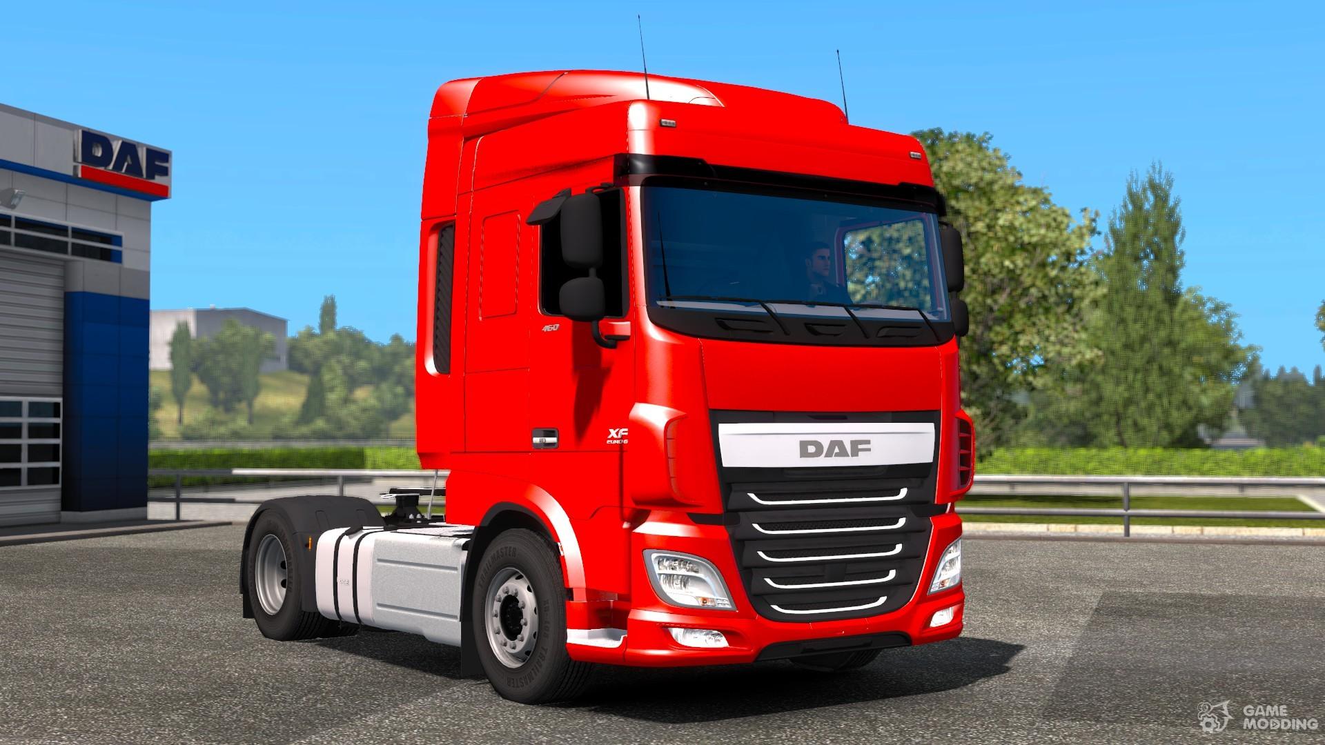 daf xf116 reworked for euro truck simulator 2. Black Bedroom Furniture Sets. Home Design Ideas