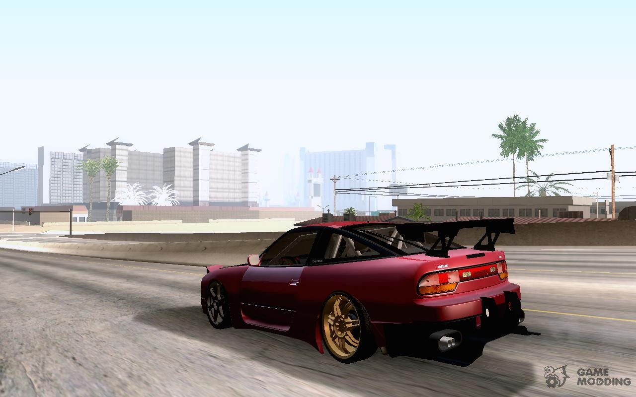 Nissan Drift Car Tuning For Gta San Andreas