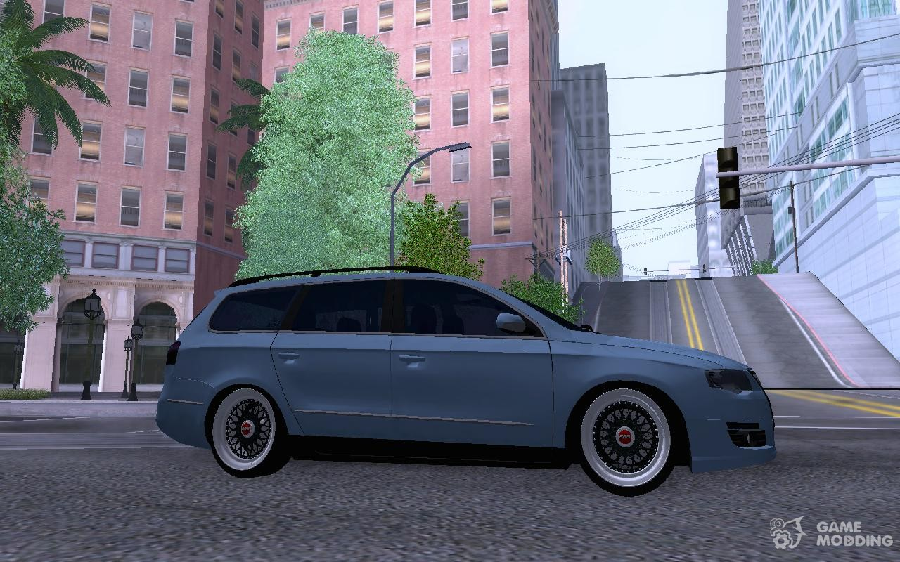 volkswagen passat b6 variant stance 2007 for gta san andreas. Black Bedroom Furniture Sets. Home Design Ideas