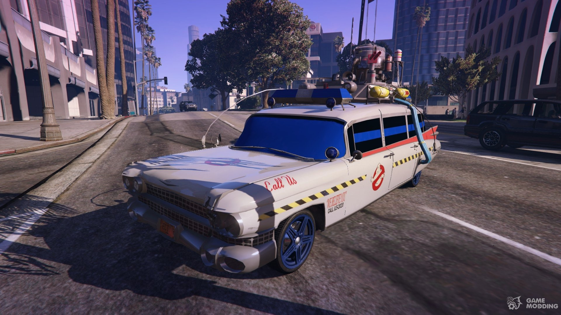 Cadillac Miller Meteor 1959 Quot Ghostbusters Ecto 1 Quot For Gta 5