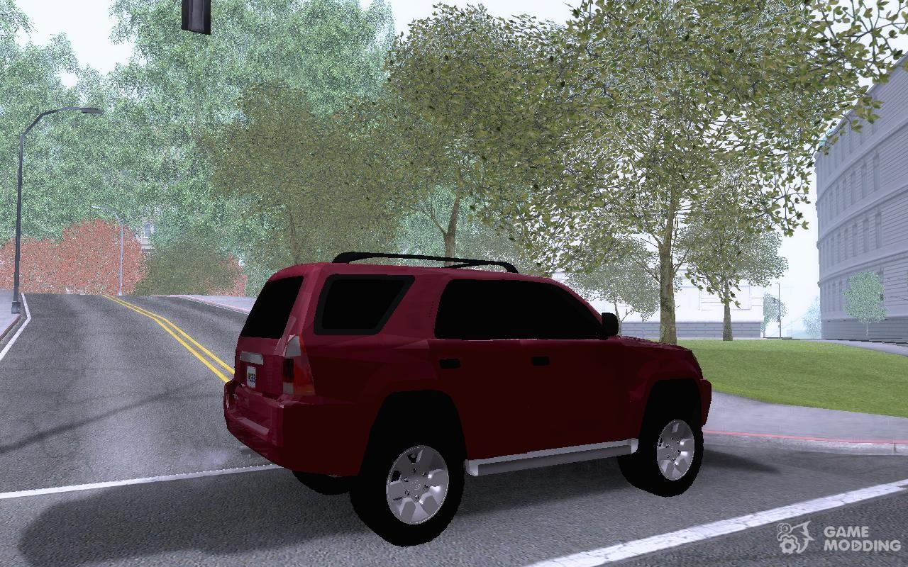 2009 Toyota 4Runner for GTA San Andreas
