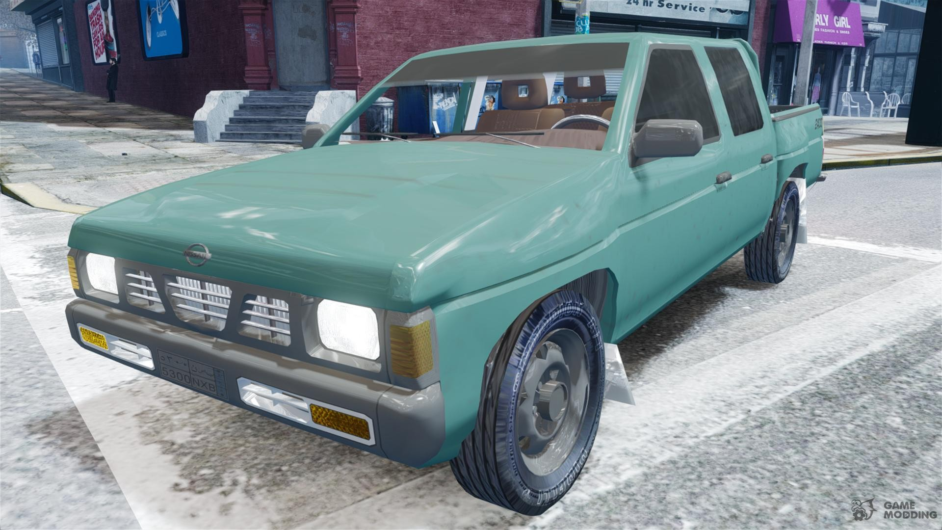 Nissan pick up 1997 for gta 4