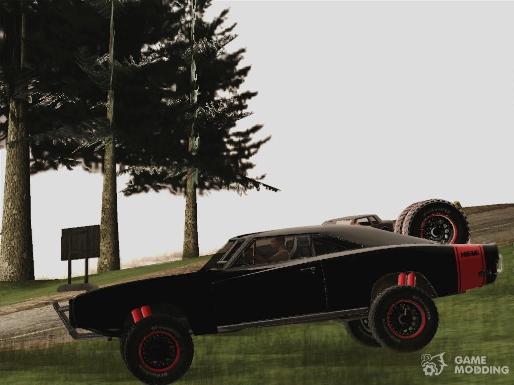 Dodge Charger FF7 Off Road for GTA San Andreas
