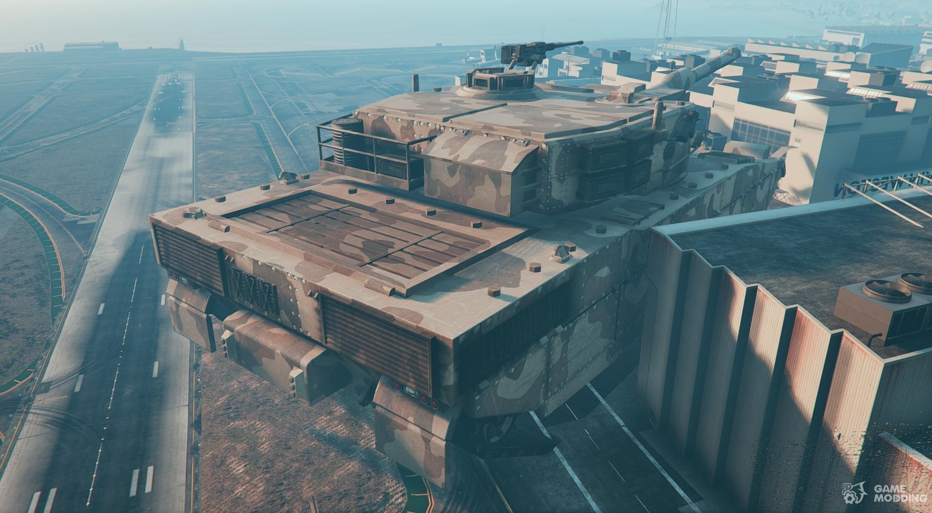 Mega Giant God GTA 5 Tank MOD