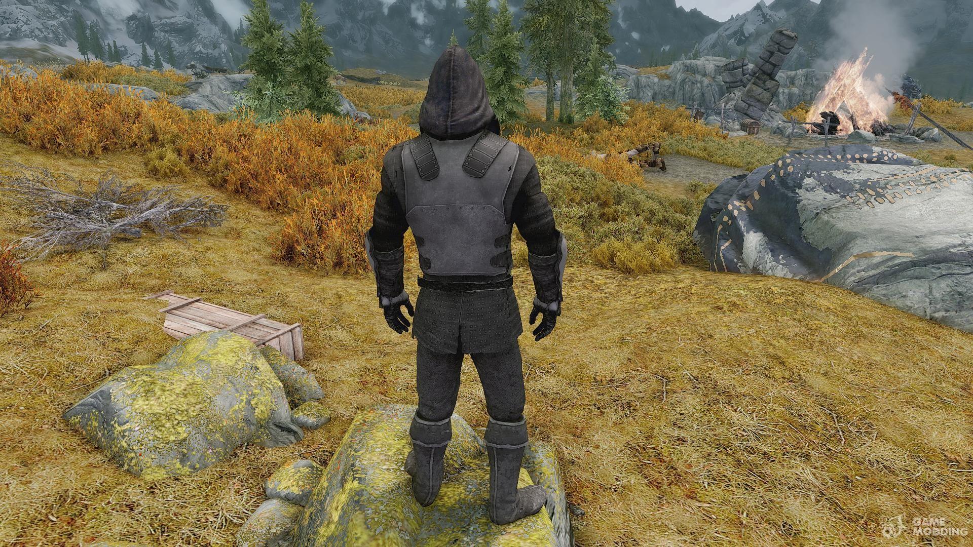 Моды на Скайрим Броня Рыцаря