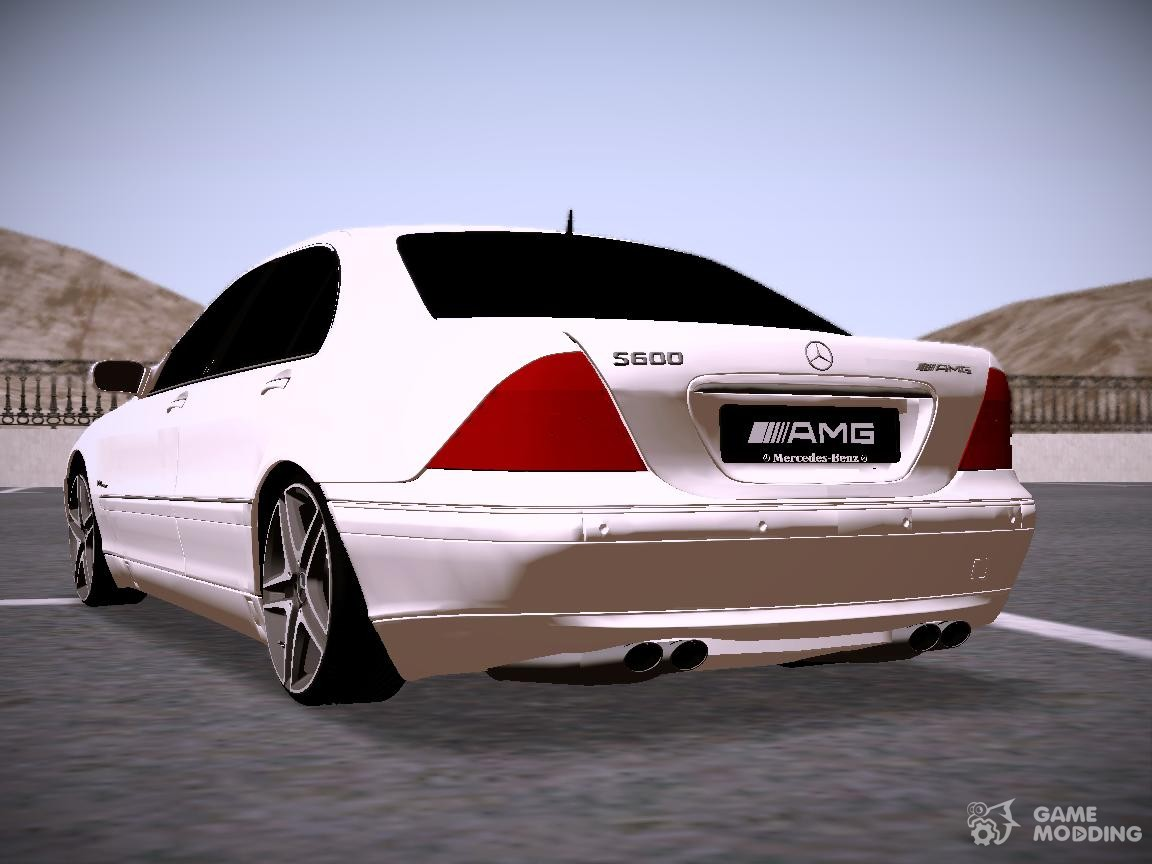 Mercedes benz s600 amg for gta san andreas for Mercedes benz s600