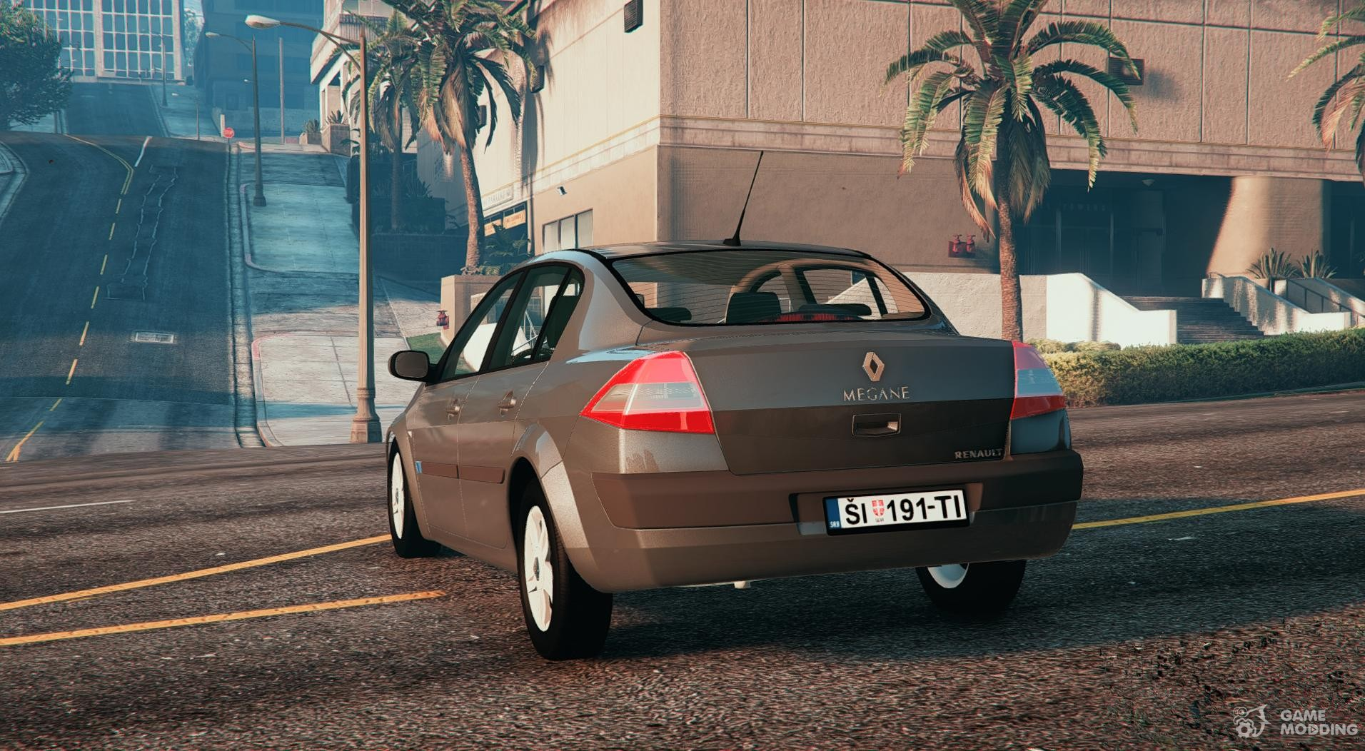 Renault Megane Sedan For Gta