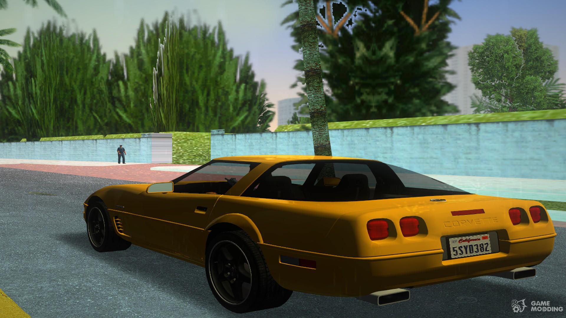 chevrolet corvette c4 96 for gta vice city. Black Bedroom Furniture Sets. Home Design Ideas