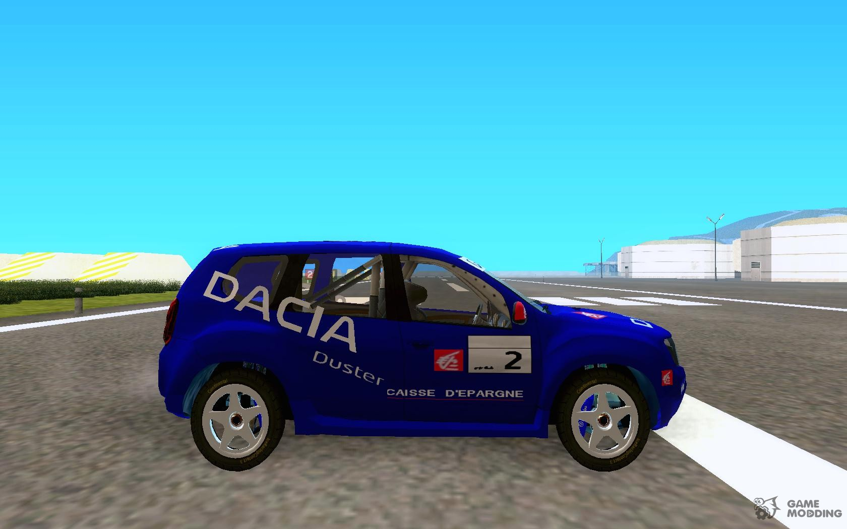 dacia duster 39 s rally for gta san andreas. Black Bedroom Furniture Sets. Home Design Ideas