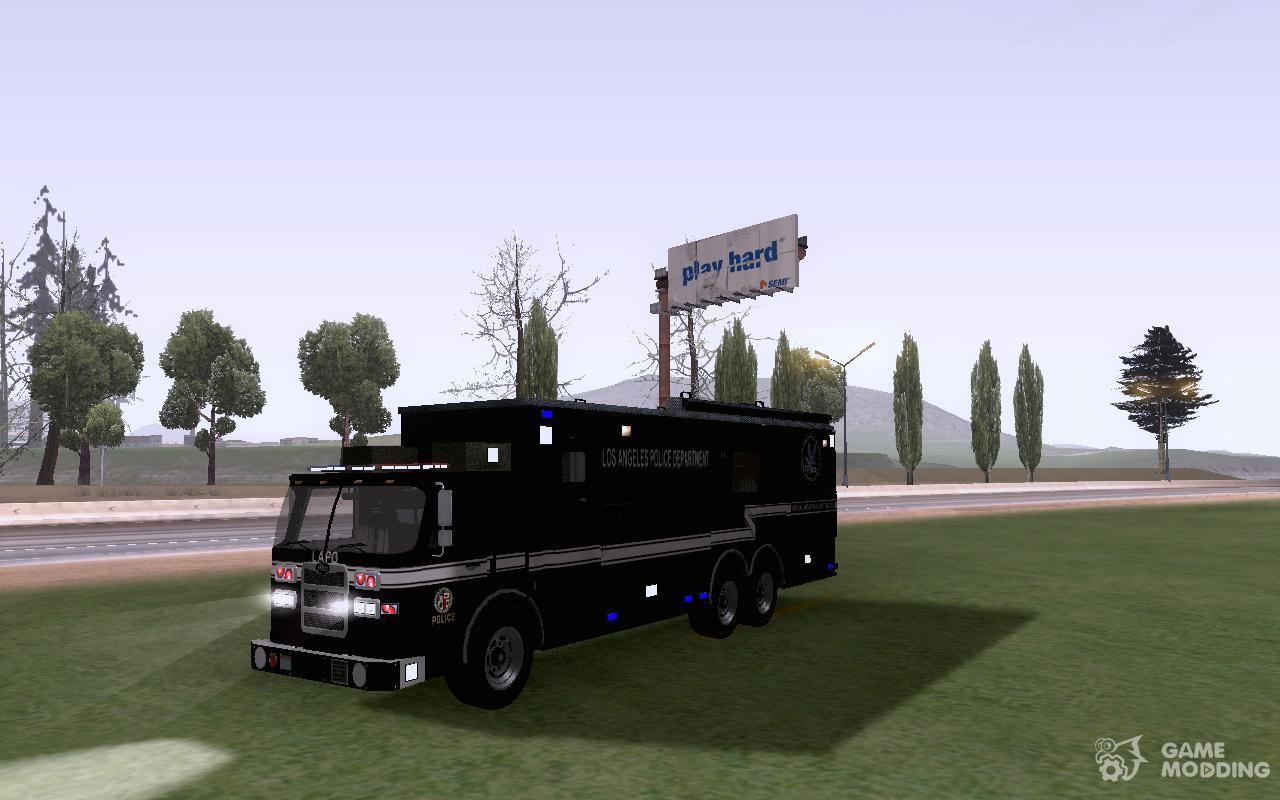 Pierce Contendor LAPD SWAT for GTA San Andreas