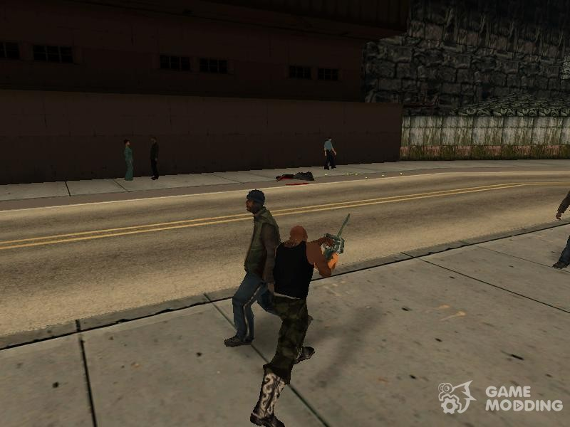 Chainsaw Massacre v  2 0 for GTA San Andreas
