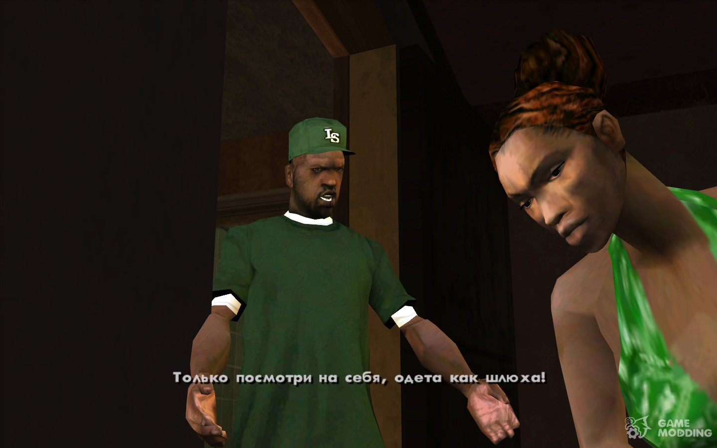 Original characters from the cut-scenes for GTA San Andreas
