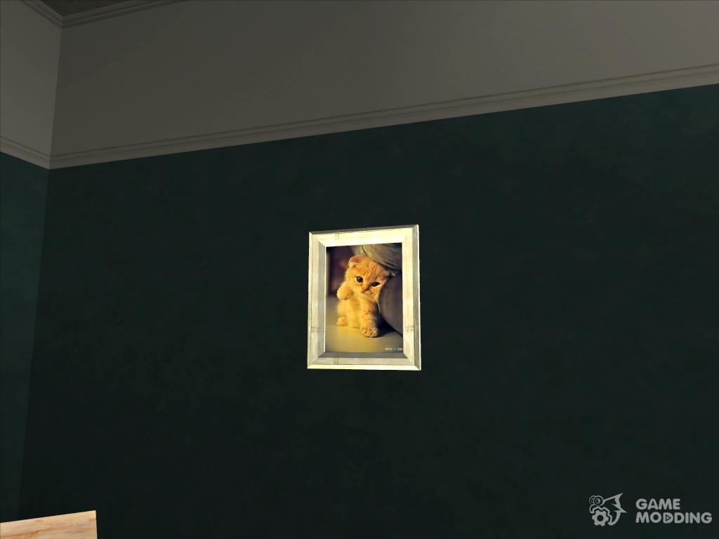 Gta San Andreas Paintings In House