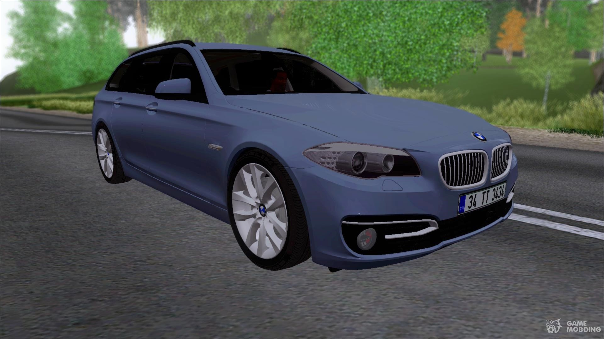 bmw 530 d f11 facelift for gta san andreas. Black Bedroom Furniture Sets. Home Design Ideas