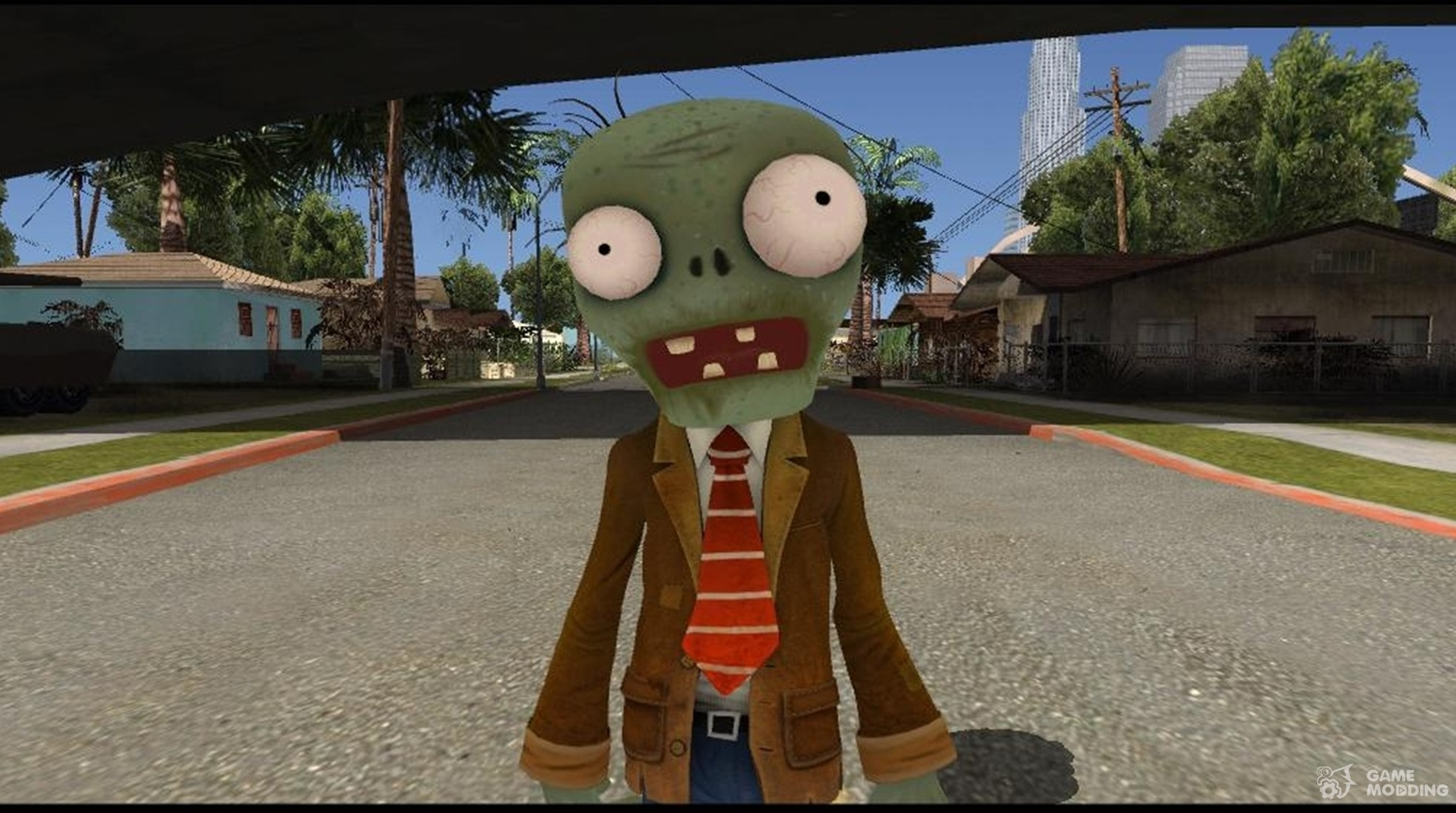 Browncoat Zombie From Plants vs. Zombies Garden Warfare for GTA San ...