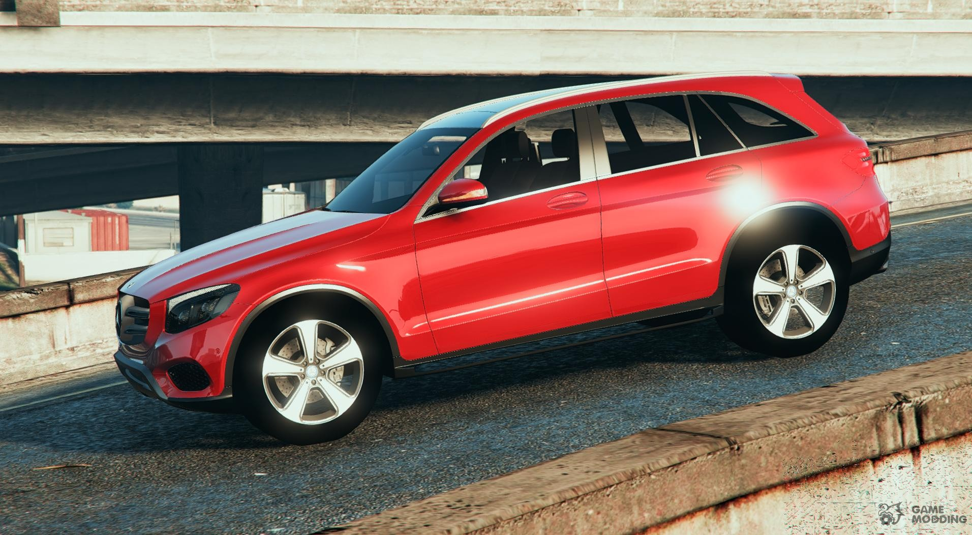 Mercedes benz glc 2016 for gta 5 for 2014 mercedes benz glc