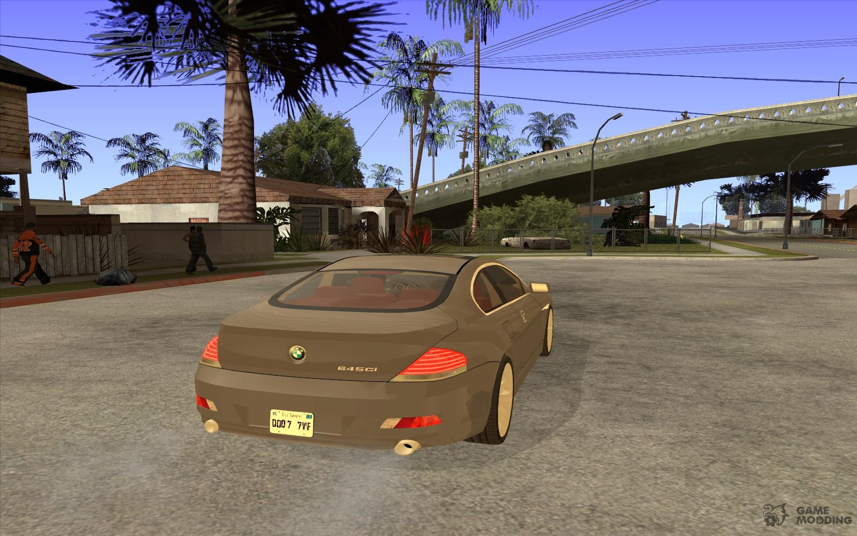2004 bmw 645ci e63 with red interior for gta san andreas. Black Bedroom Furniture Sets. Home Design Ideas