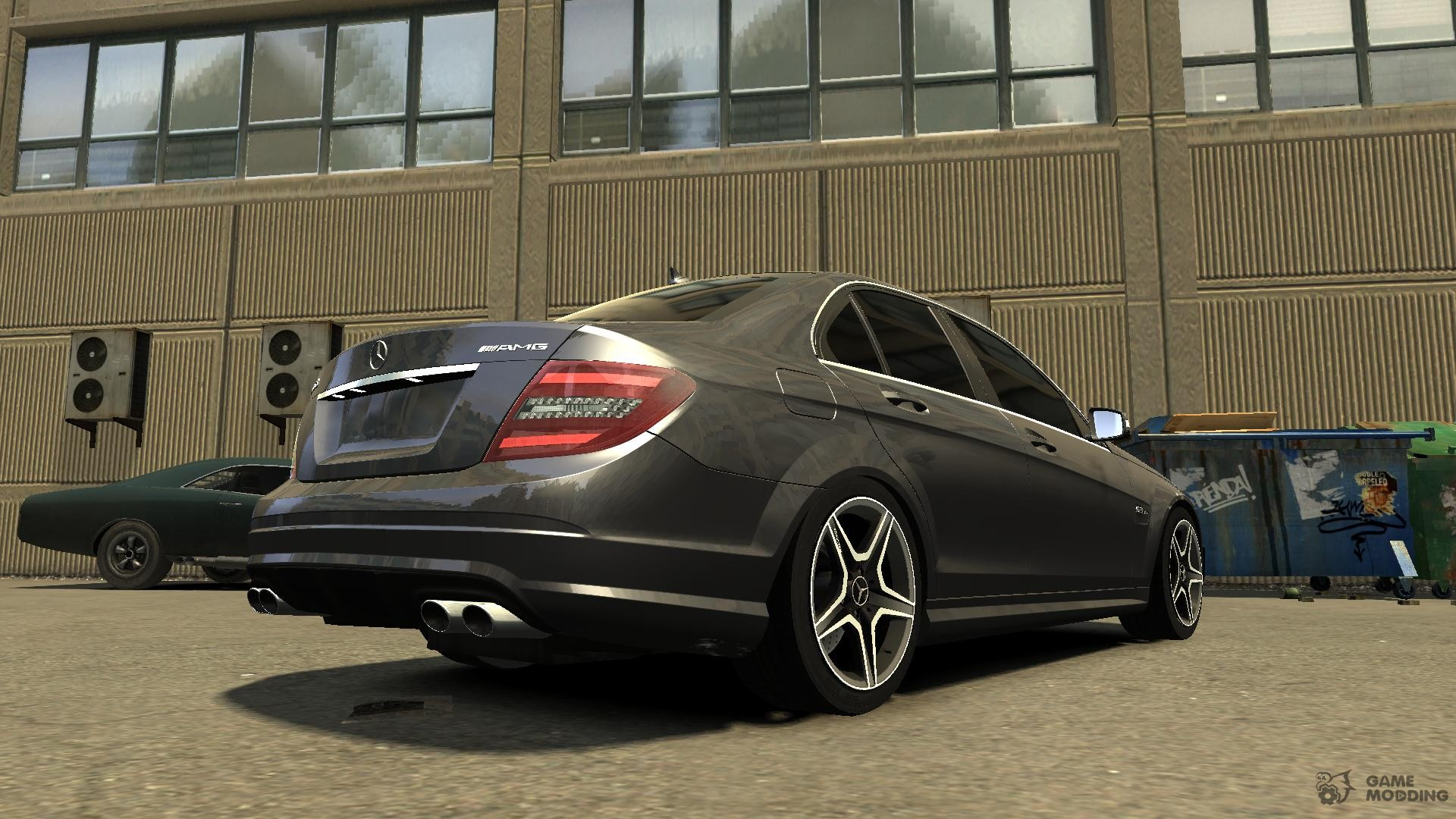 Mercedes benz c63 amg 2010 for gta 4 for Mercedes benz gta