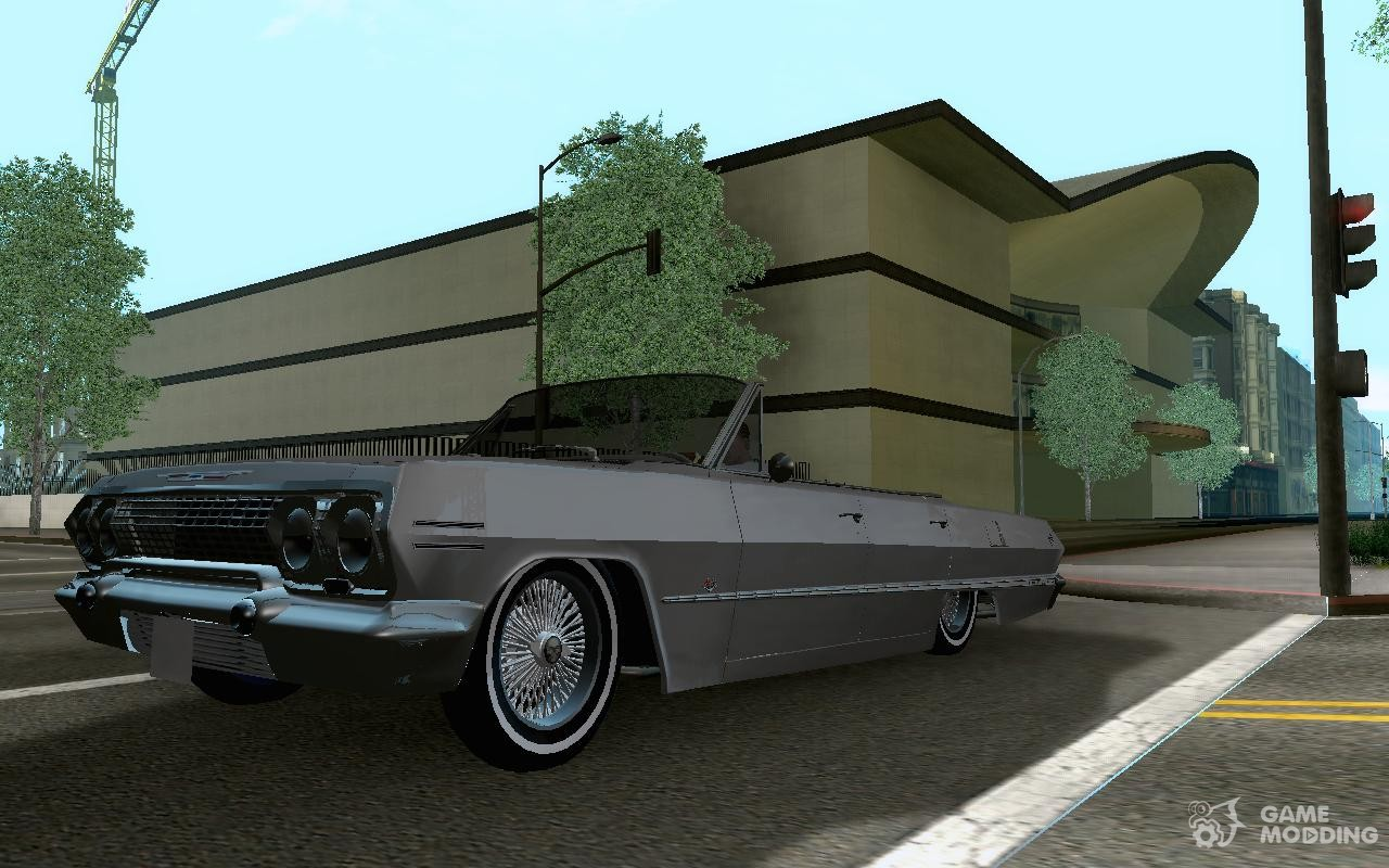 Chevrolet impala 4 door hardtop 1963 for gta san andreas - Chevrolet Impala 1964 Lowrider For Gta San Andreas