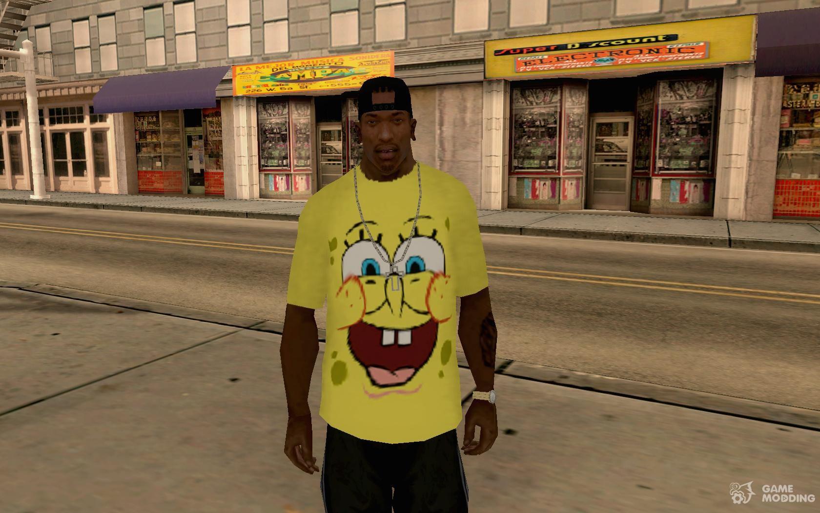 Spongebob OUTFIT for GTA San Andreas