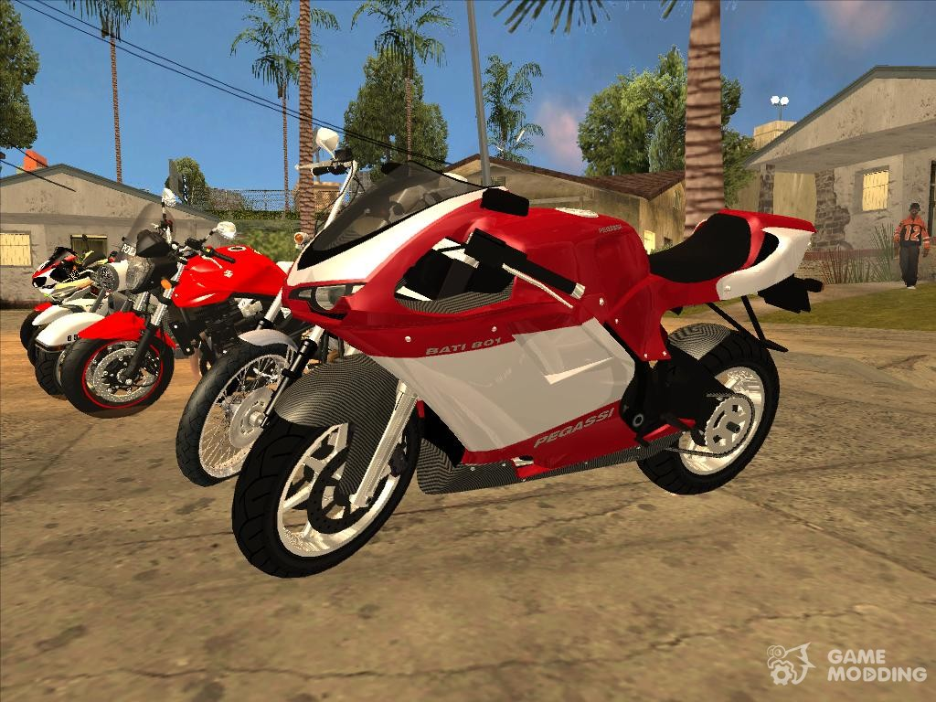 Bike packs for GTA San Andreas with automatic installation: download packs of bikes for gta sa free