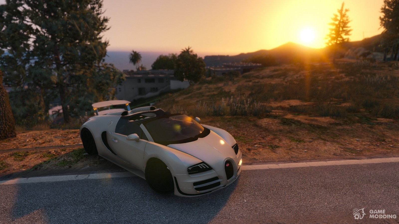 bugatti veyron grand sport vitesse for gta 5. Black Bedroom Furniture Sets. Home Design Ideas
