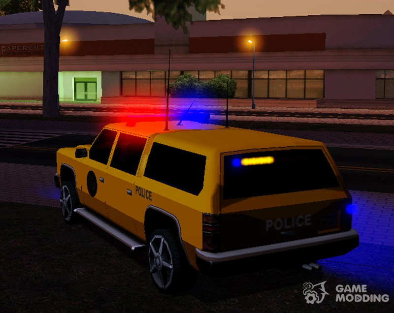 Emergency Light Mod v1 0 by nyolc8 for GTA San Andreas