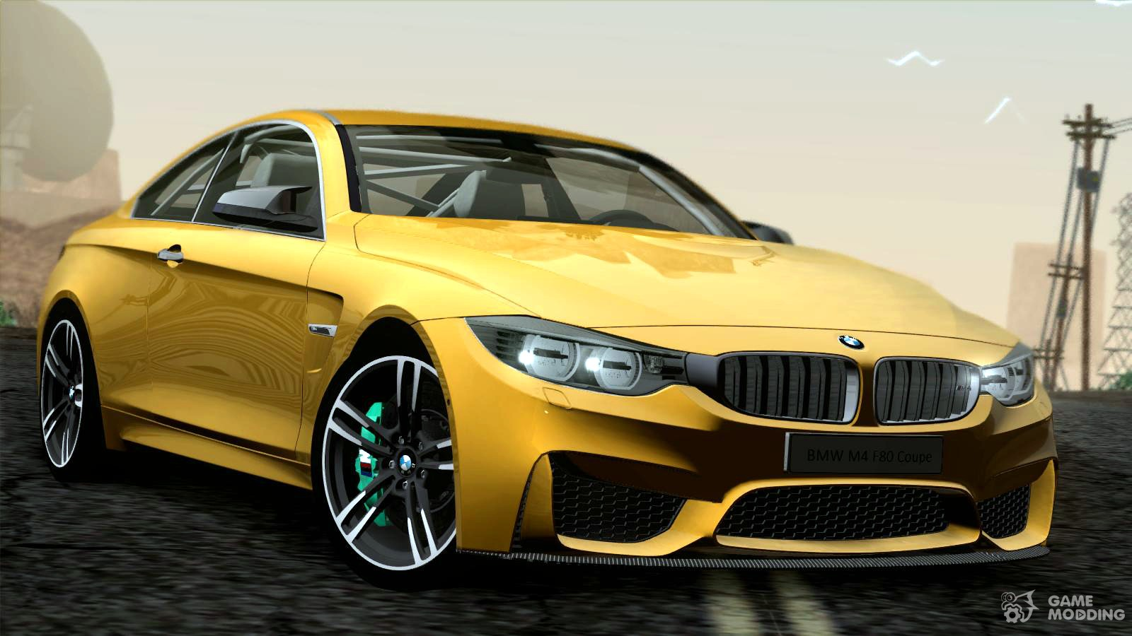 bmw m4 f80 coupe 10 2014 for gta san andreas