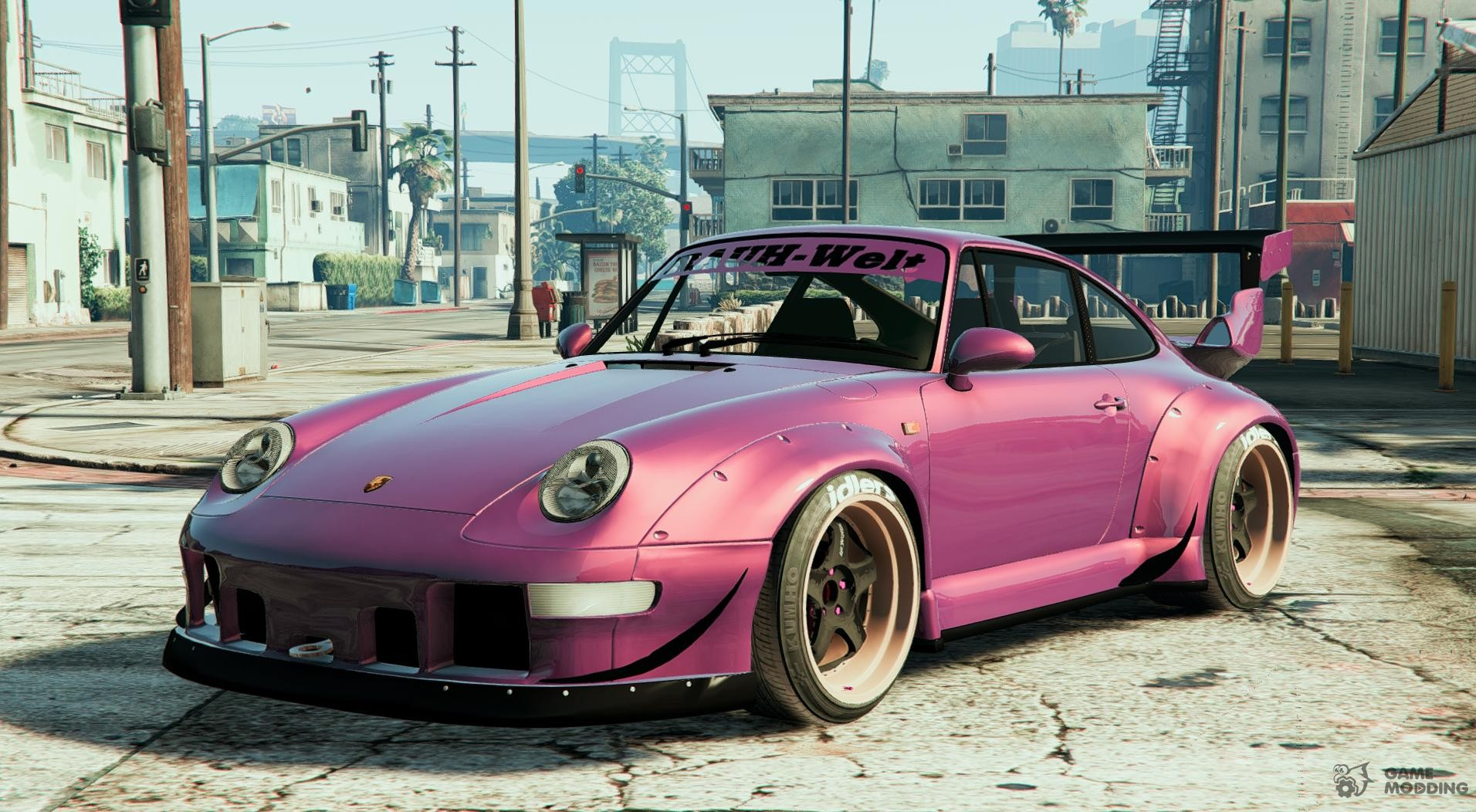 1995 porsche 911 gt2 993 rauh welt begriff rwb for gta 5. Black Bedroom Furniture Sets. Home Design Ideas