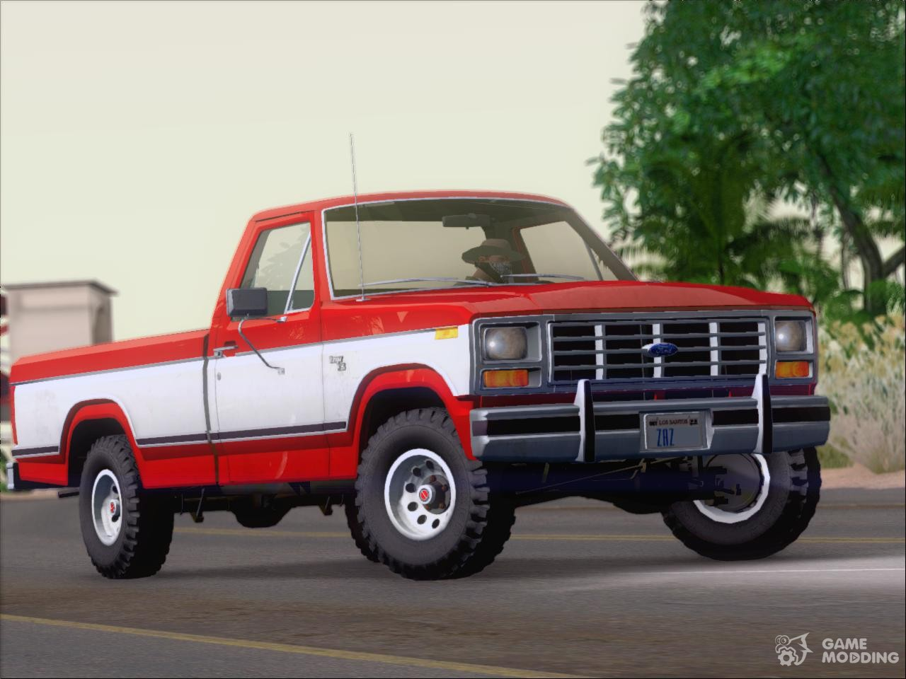Ford f 150 ranger 1984 for gta san andreas left view
