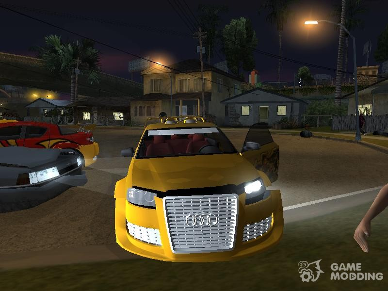 Need for Speed Underground 2 pack for GTA San Andreas