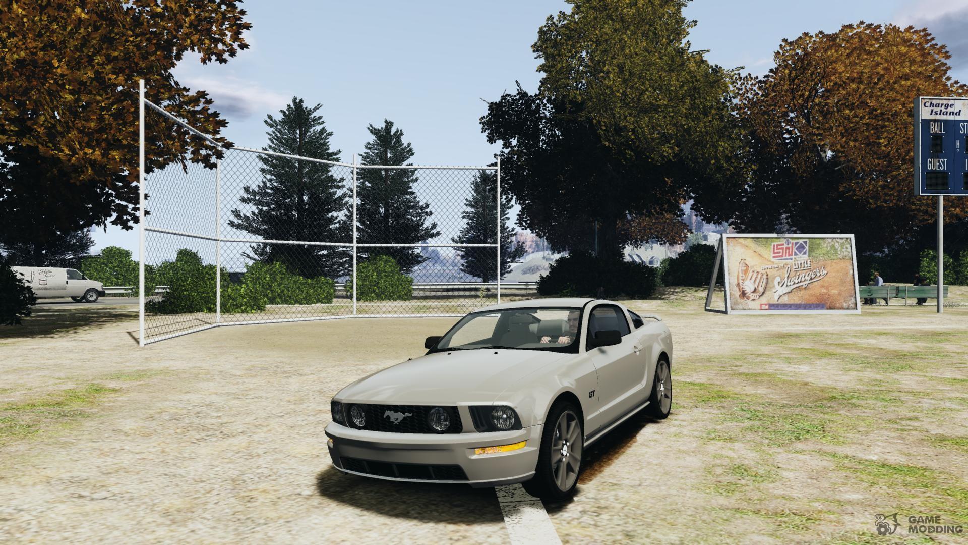 Ford mustang gt 2005 v 1 2 for gta 4