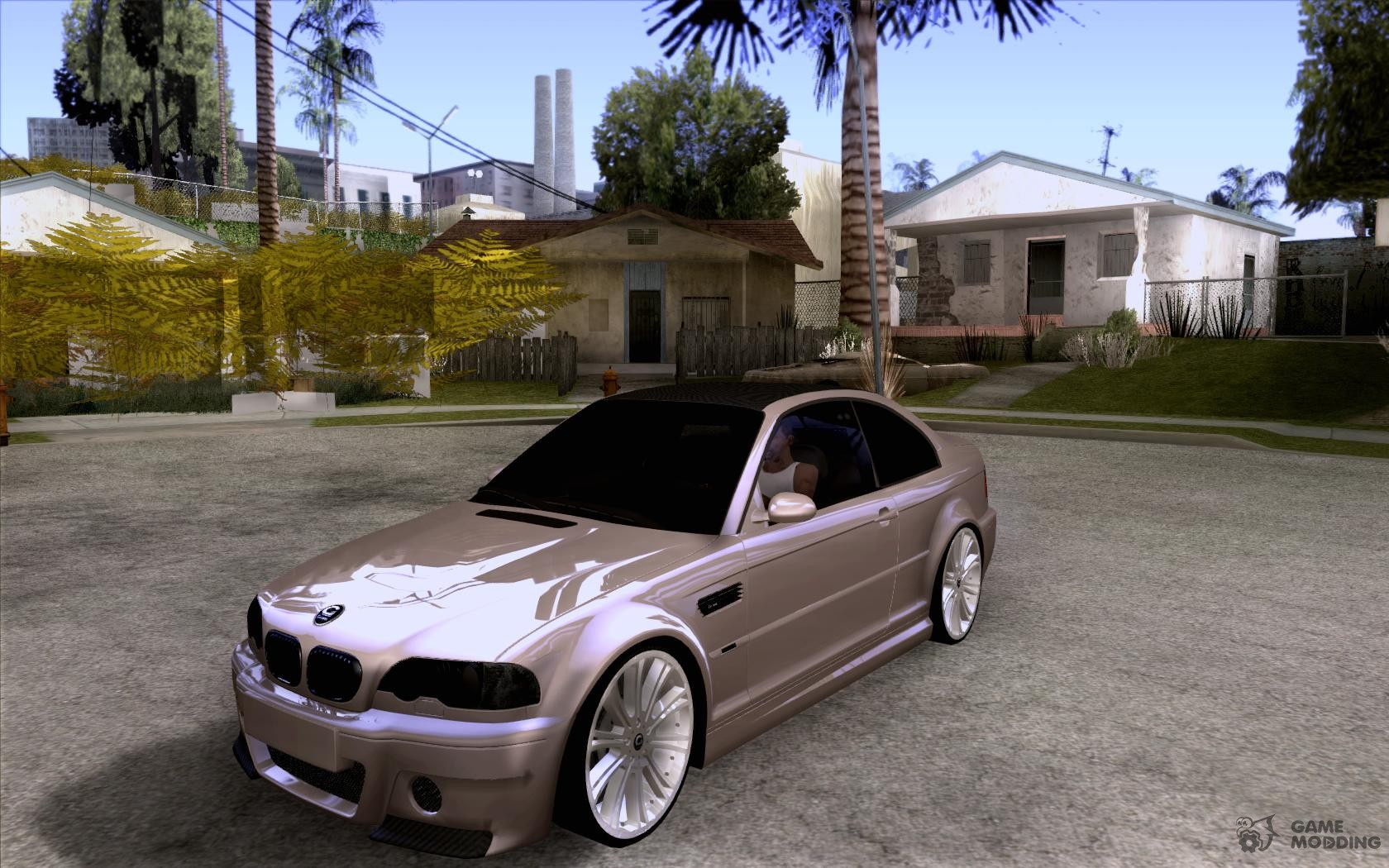 Bmw m3 csl e46 g power for gta san andreas