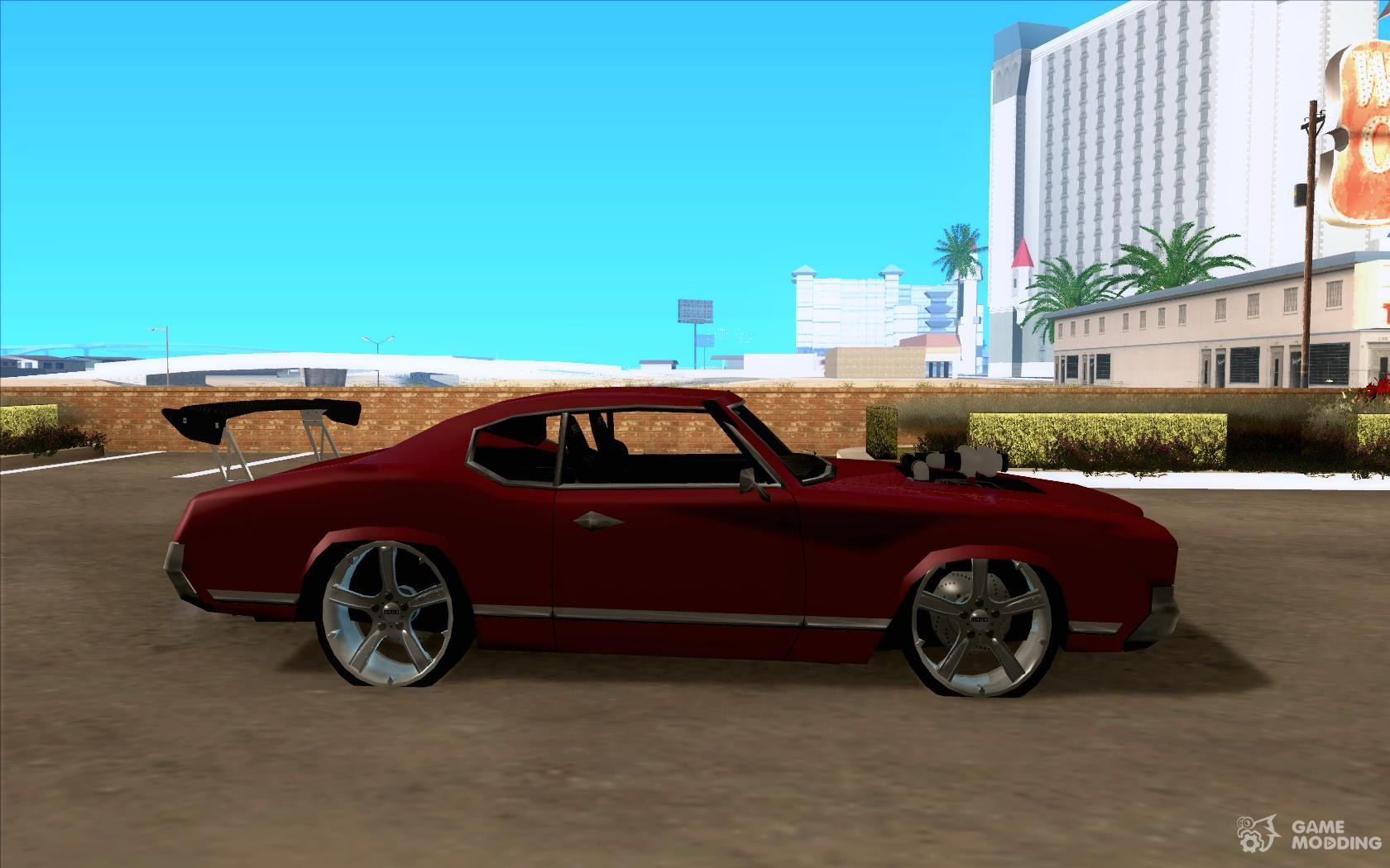 Sabre Remodel And Light Tuning For Gta San Andreas